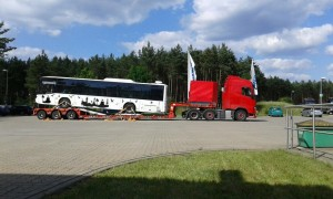 Ukraine Heavy Transport Lowbed Transport