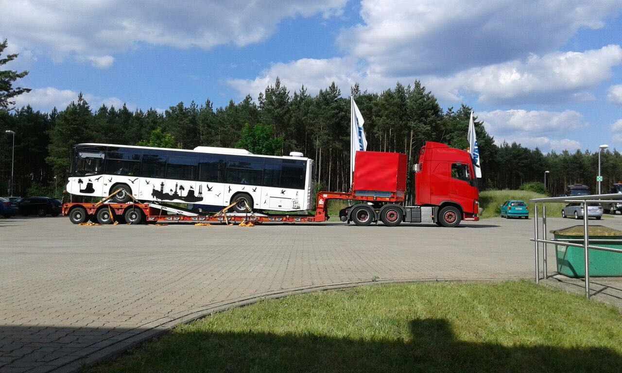 Finland Heavy Transport Lowbed Transport