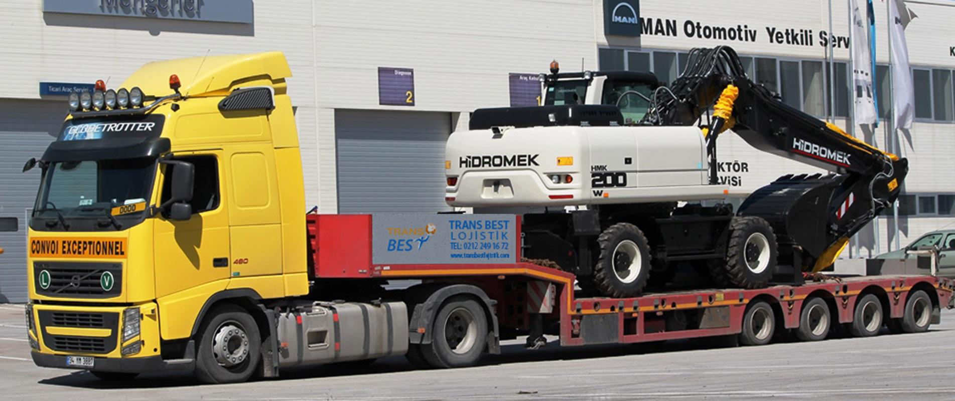 Georgia Heavy Transport Lowbed Transport