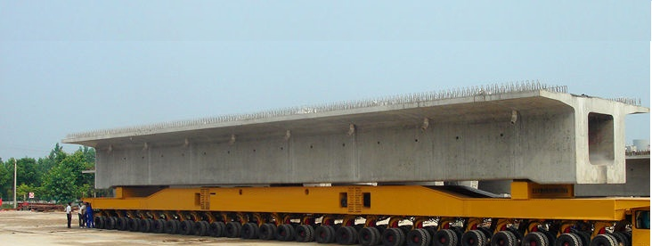 Uzbekistan Heavy Transport Lowbed Transport