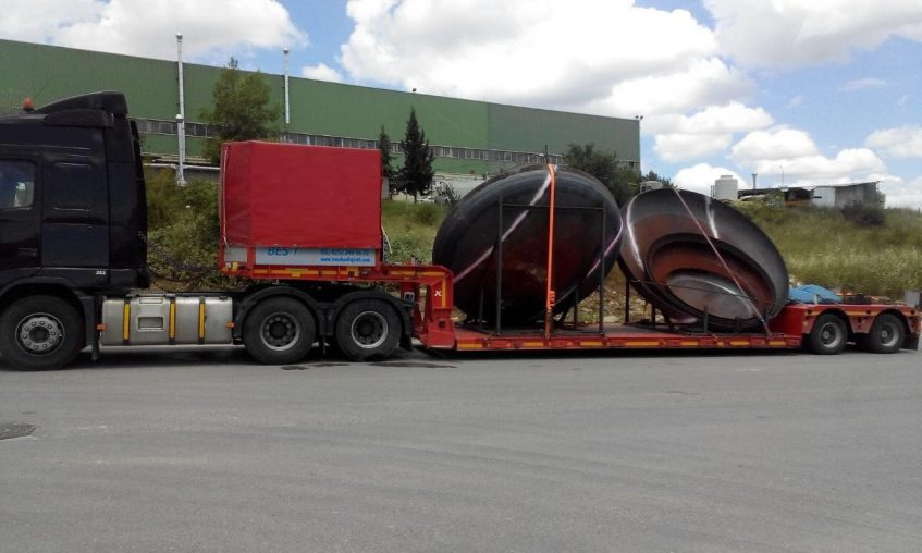 Germany Heavy Transport Lowbed Transport