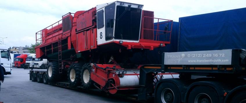 İnternational Heavy Transport Lowbed Transport
